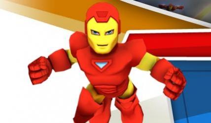 Тысячи супергероев встретятся в Super Hero Squad Online