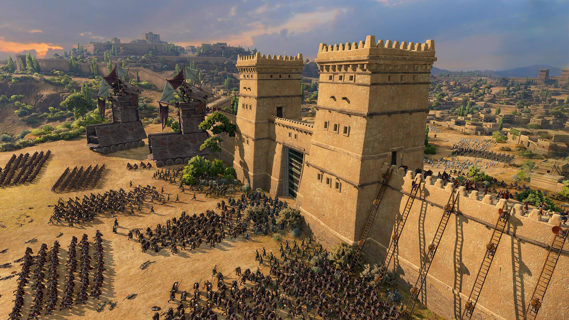 Авторы Total War: Troy показали, как захватить Трою