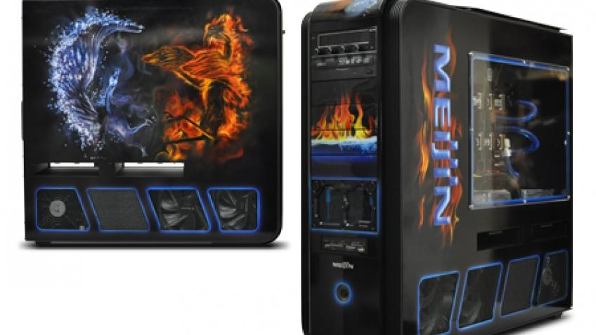 Meijin Ice and Fire: топовый игровой компьютер с аэрографикой