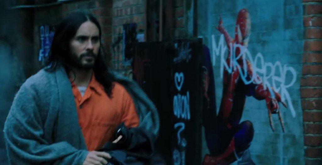 В дебютном трейлере «Морбиуса» есть постер с Человеком-пауком
