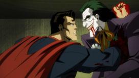В трейлере Injustice без цензуры Супермен убивает Джокера