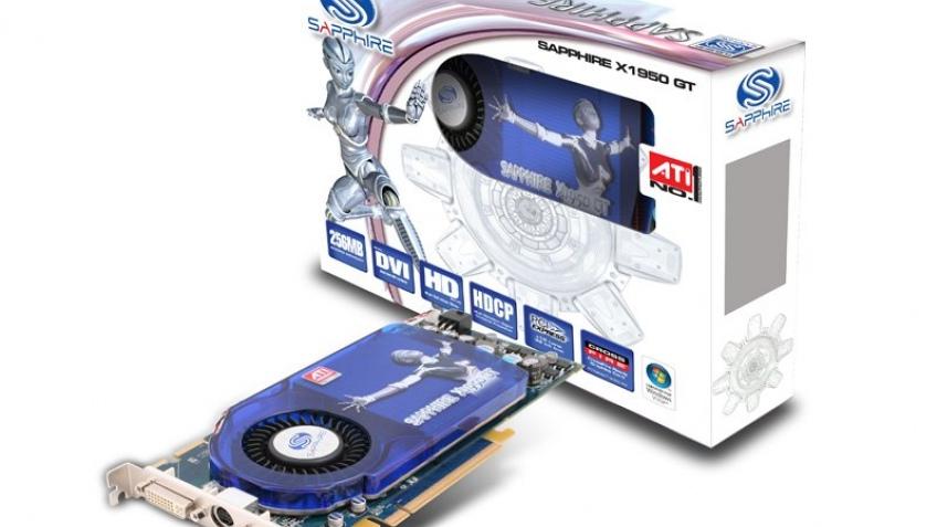 Сапфировый Radeon X1950 GT