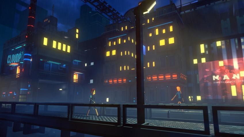 Создатели Cloudpunk рассказали о первой ночи героини в большом городе