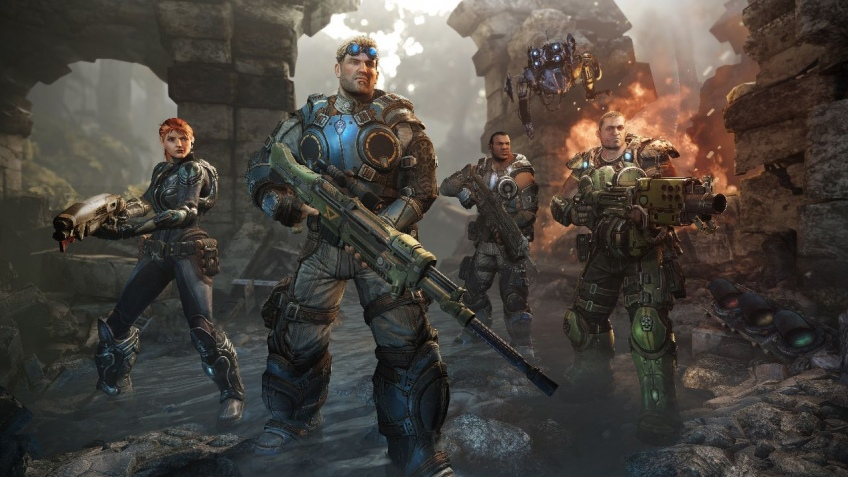 На диске с Gears of War: Judgment нашли новый режим