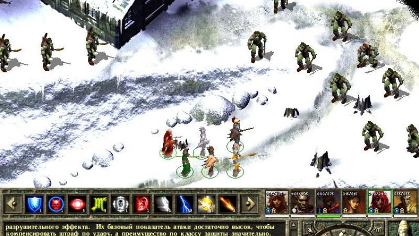 Icewind Dale 2 на золоте
