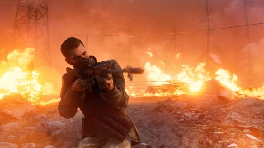 В Battlefield V появилась королевская битва — «Огненный шторм»