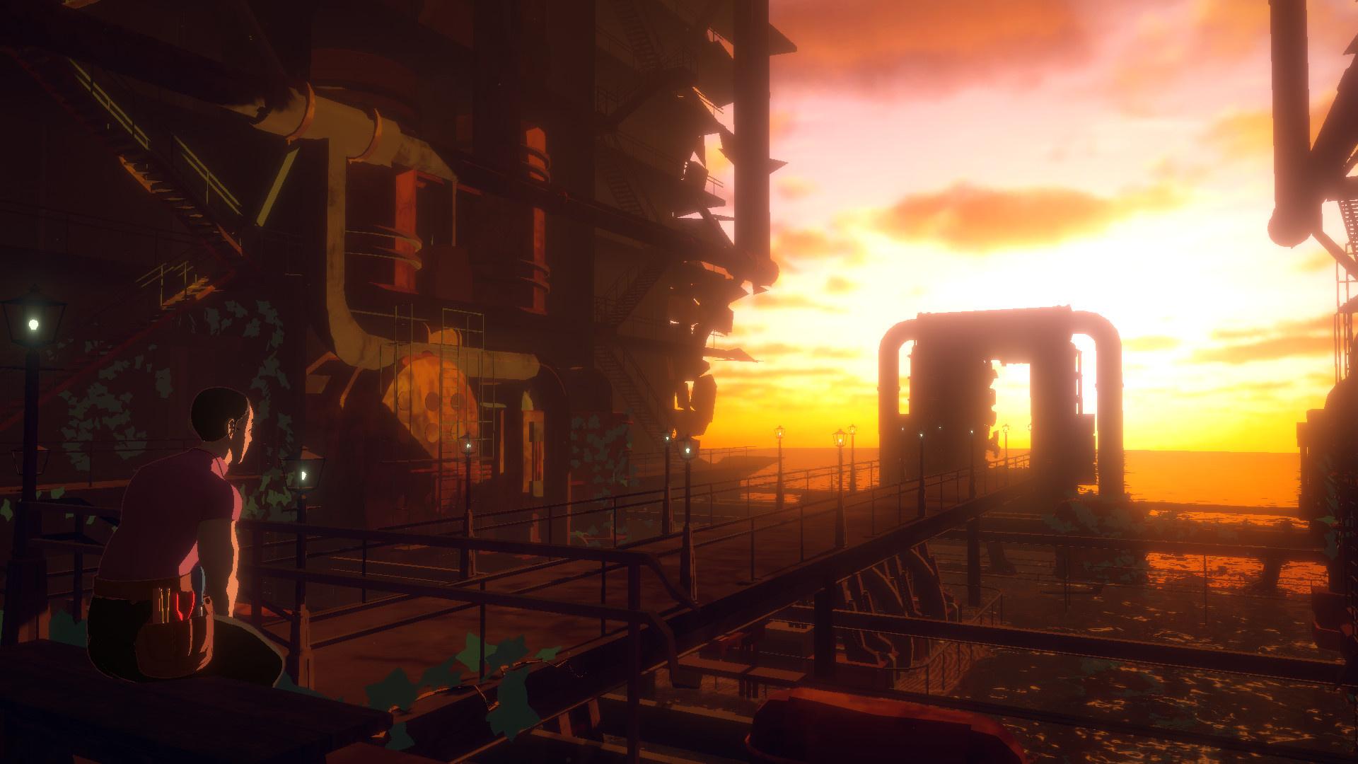 Визуальная новелла Necrobarista выходит в Steam через неделю