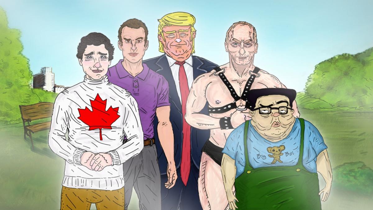 На свидание с Трампом: International Affairs вышла в Steam