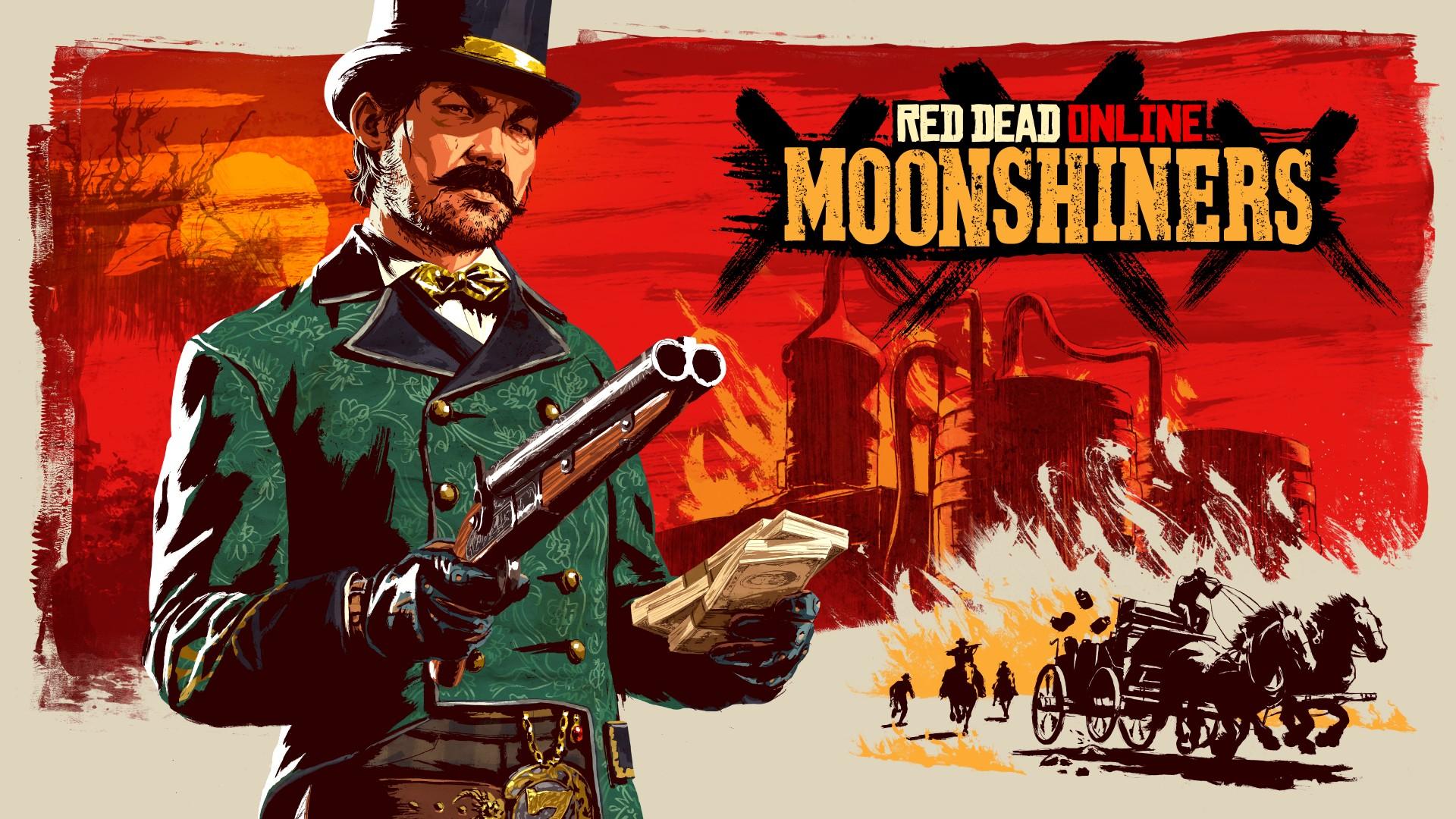 Герои Red Dead Online освоят самогоноварение
