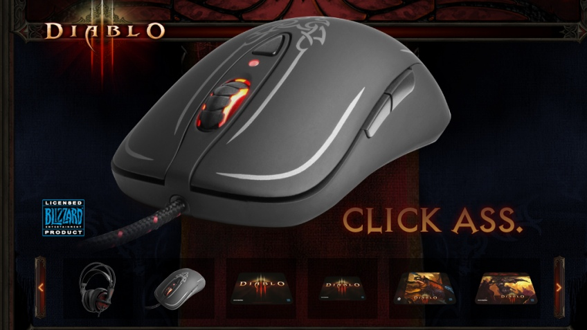 Новая периферия SteelSeries в рамках Diablo 3