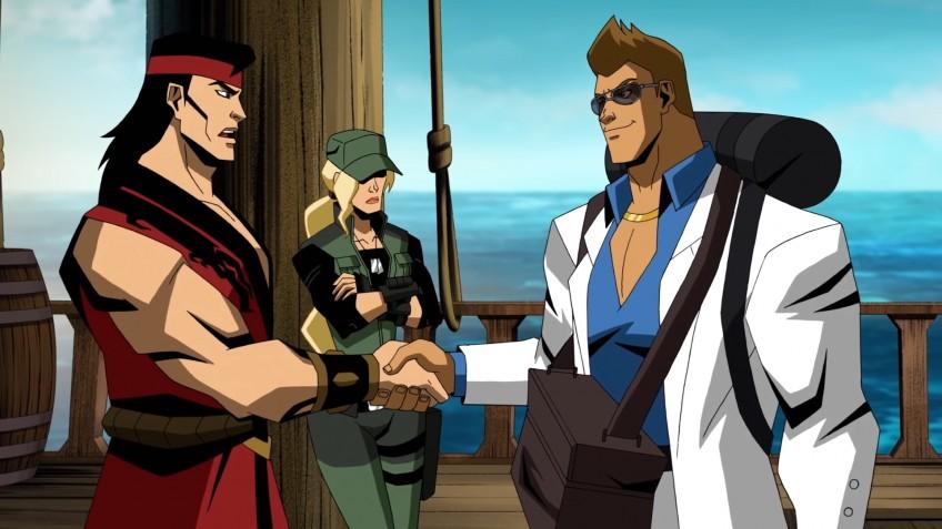 Новый отрывок мультфильма по Mortal Kombat посвятили Джонни Кейджу