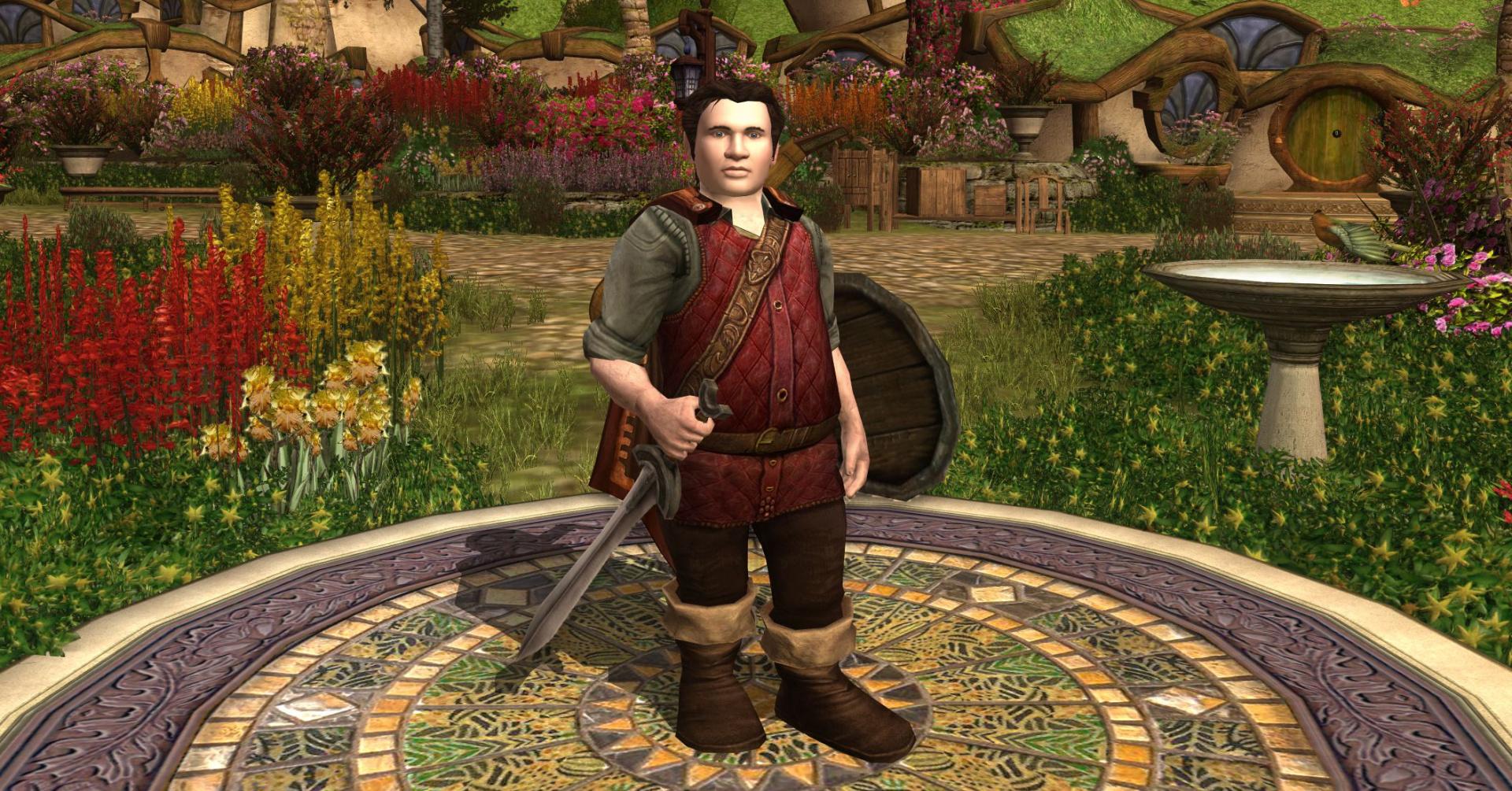 Хоббит в The Lord of the Rings Online прокачался только выпечкой пирогов