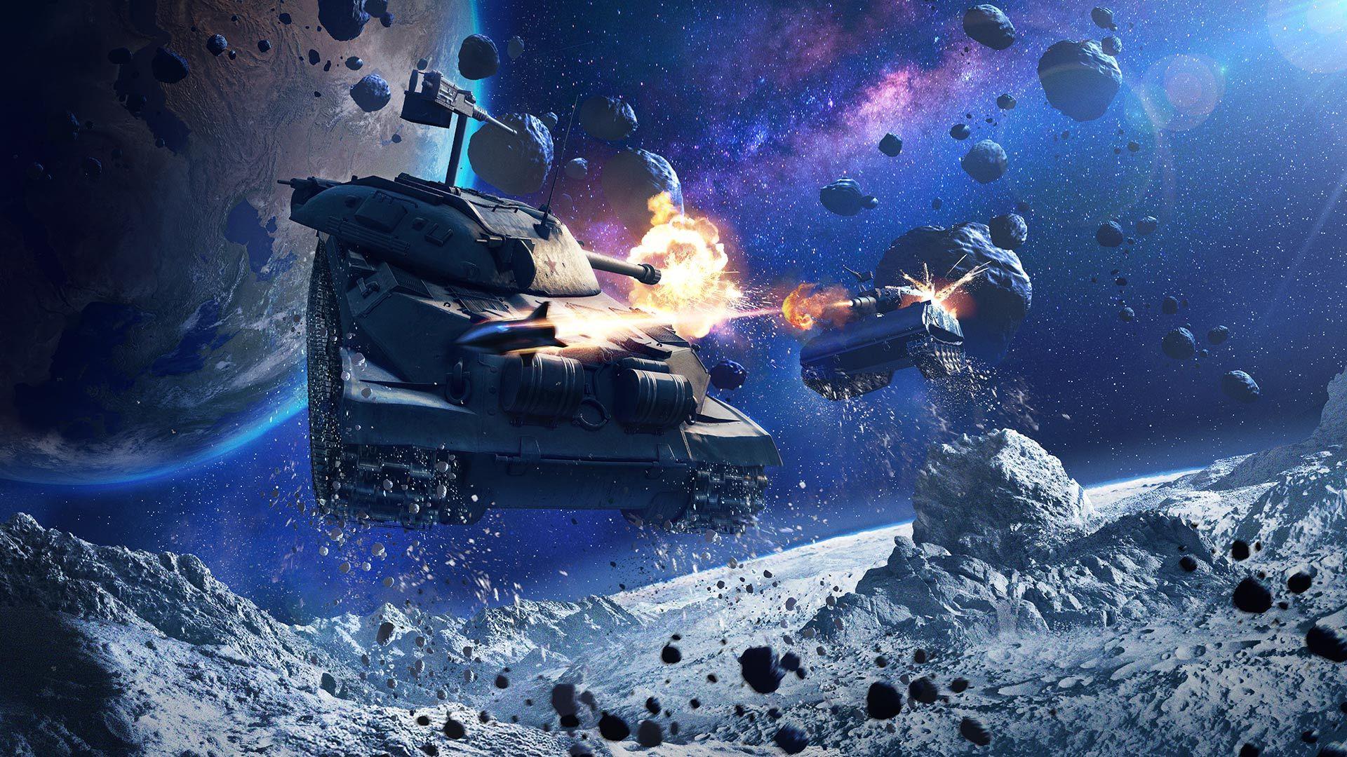 World of Tanks Blitz летит на Луну: режим «Гравитация» возвращается