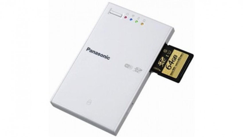 Кардридер Panasonic BN-SDWBP3 поддерживает Wi-Fi