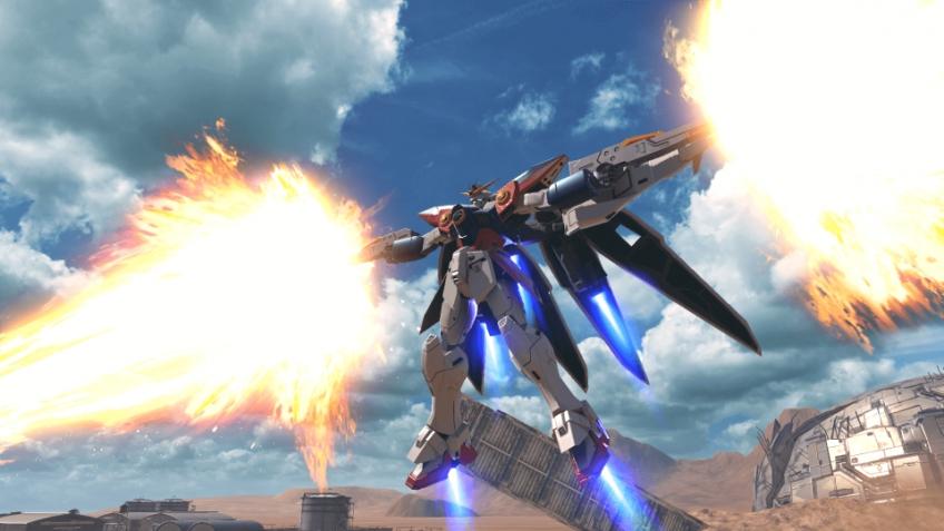 Битвы роботов Gundam Versus начнутся осенью