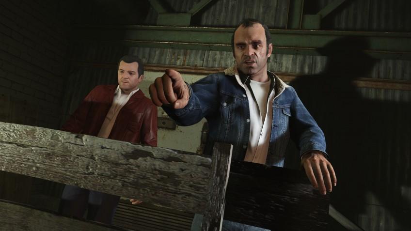 Grand Theft Auto V вырвалась на первую строчку еженедельного чарта продаж Steam