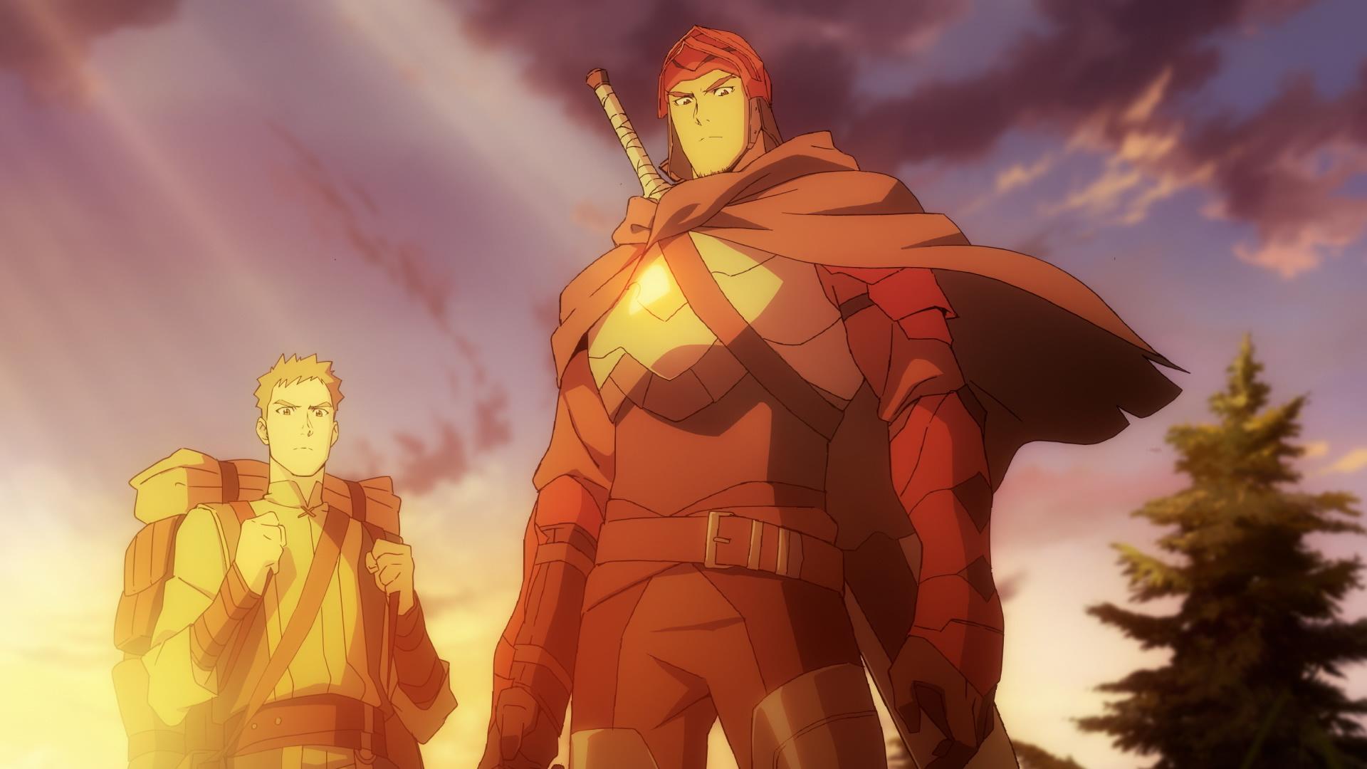 Аниме-сериал «DOTA: Кровь дракона» занял первую строчку в чарте российского Netflix