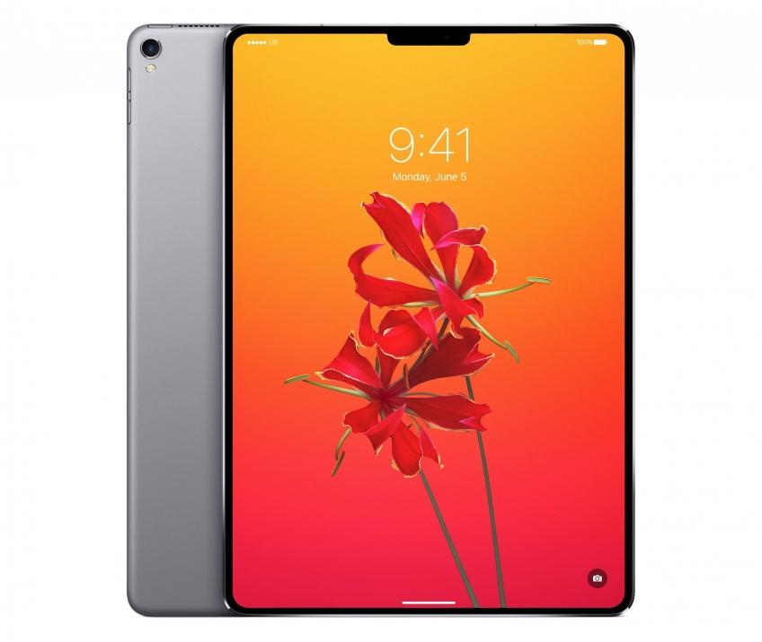 СМИ: новый iPad Pro получит поддержку Face ID и True Depth