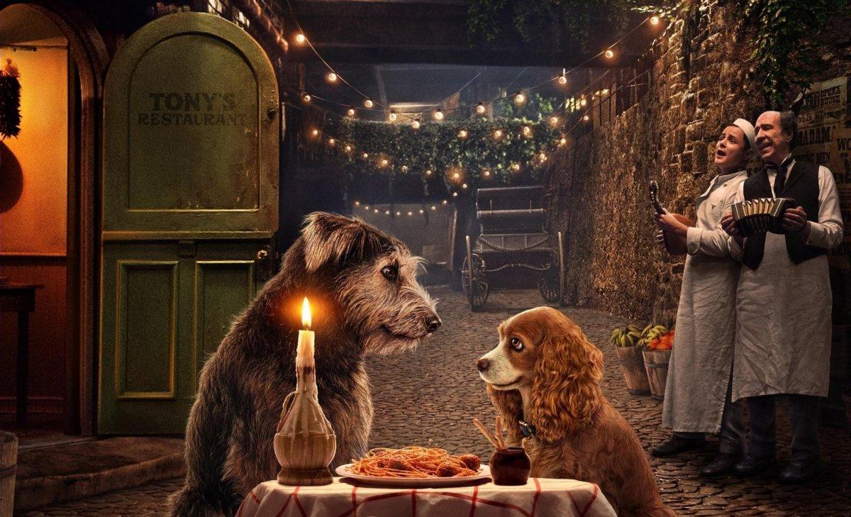 Disney выпустил ностальгический трейлер «Леди и Бродяги»