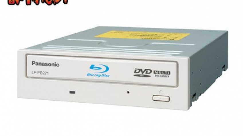 Пишущий Blu-ray привод от Panasonic