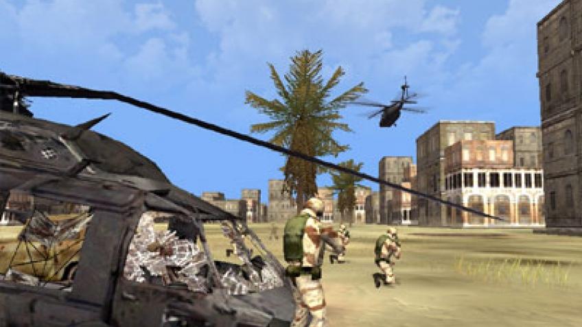 Трейлер DF: Black Hawk Down