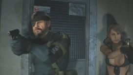 Моддеры заменили Леона и Клэр из Resident Evil2 на Биг Босса и Молчунью из MGS5