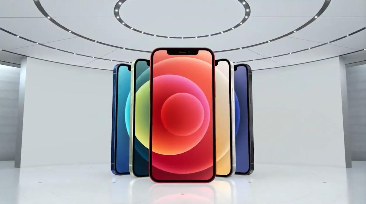 Apple показала четыре новых iPhone12