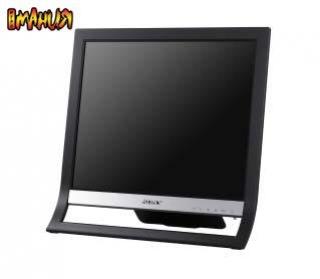 Черный-черный монитор