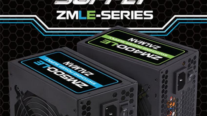 Недорогие блоки питания Zalman ZM400-LE и ZM500-LE
