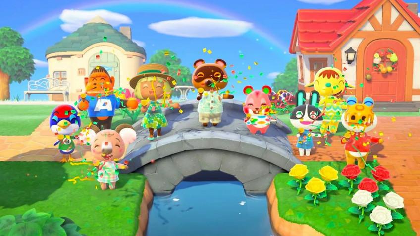 Animal Crossing: New Horizons лидирует в рознице Британии, растущей благодаря Switch