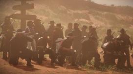 Ради миски похлёбки: игроки Red Dead Online совершили поход из Валентайна в Сен-Дени