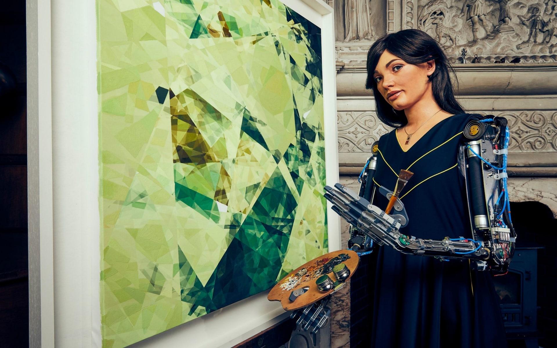 Скоро откроется первая в мире выставка робота-художника