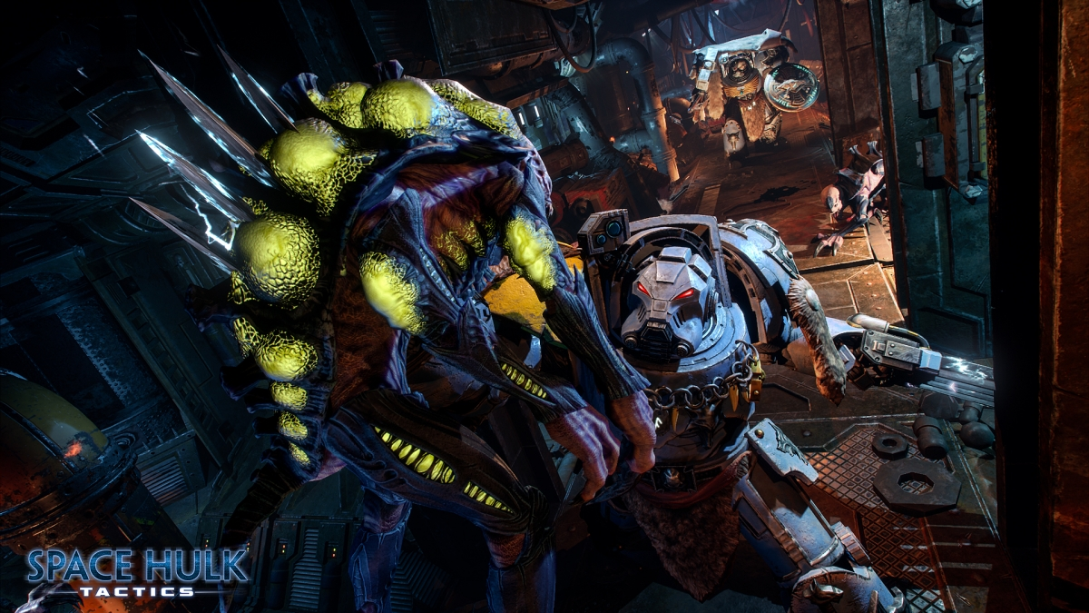 В Space Hulk: Tactics можно стать терминатором или генокрадом