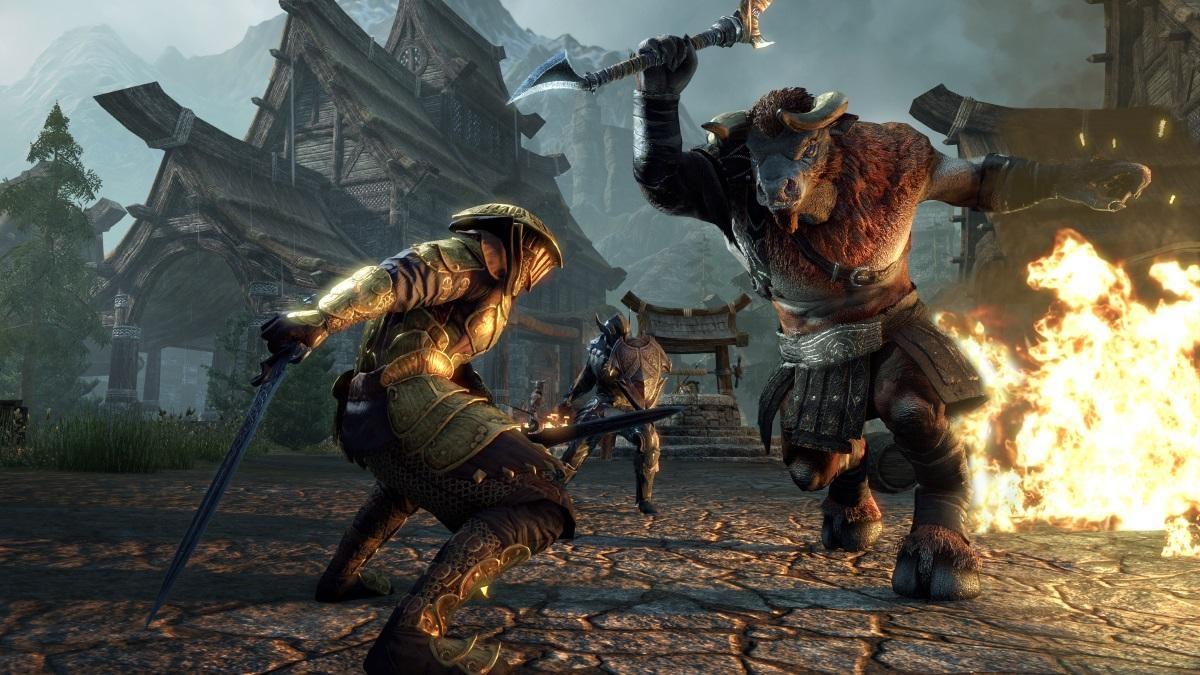 The Elder Scrolls Online получила дополнение Horns of the Reach