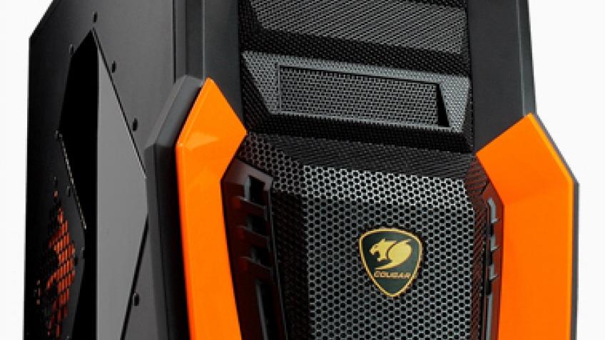 Cougar Challenger: вентилируемый корпус для игровых систем