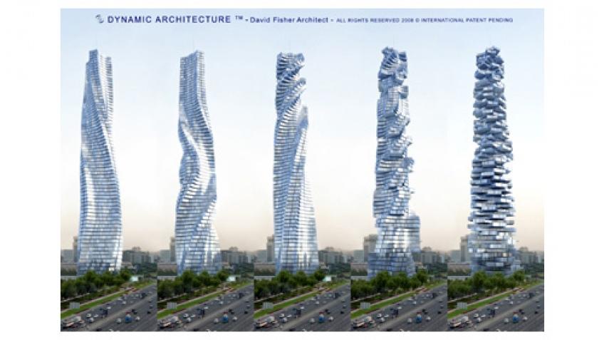 Новый небоскреб в Дубаи сможет менять форму