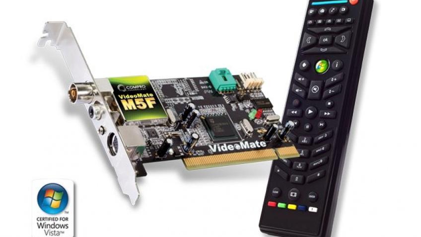 ТВ-тюнер от Compro поддерживает Vista