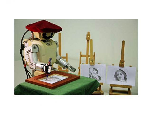 Робот-портретист продвинулся в умениях