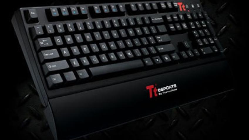 Tt eSPORTS представила механическую клавиатуру для киберспортсменов