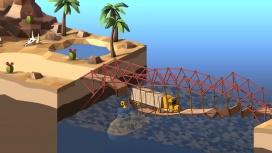 В релизном трейлере Poly Bridge2 показаны безумные конструкции переправ