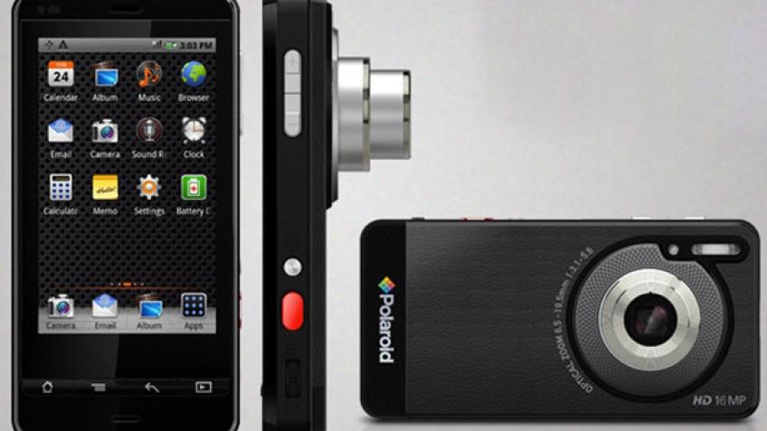 CES 2012: камерофон Polaroid на основе Google Android