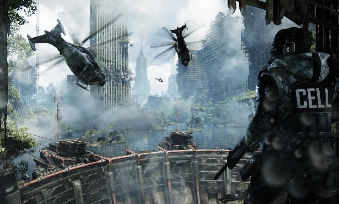 Crysis3 выжмет максимум из консолей текущего поколения