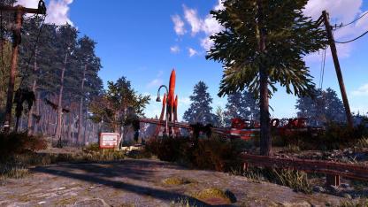 Энтузиаст добавил в Fallout4 ещё18 тысяч деревьев