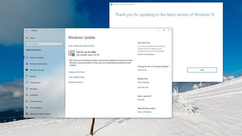 Microsoft выпустила крупное обновление Windows 10
