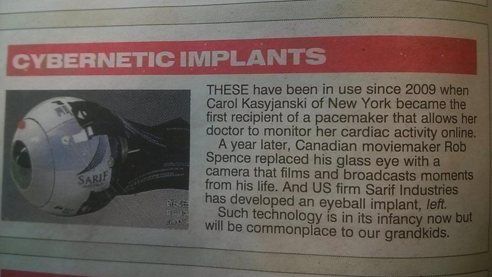 Британская газета приняла события Deus Ex за реальность