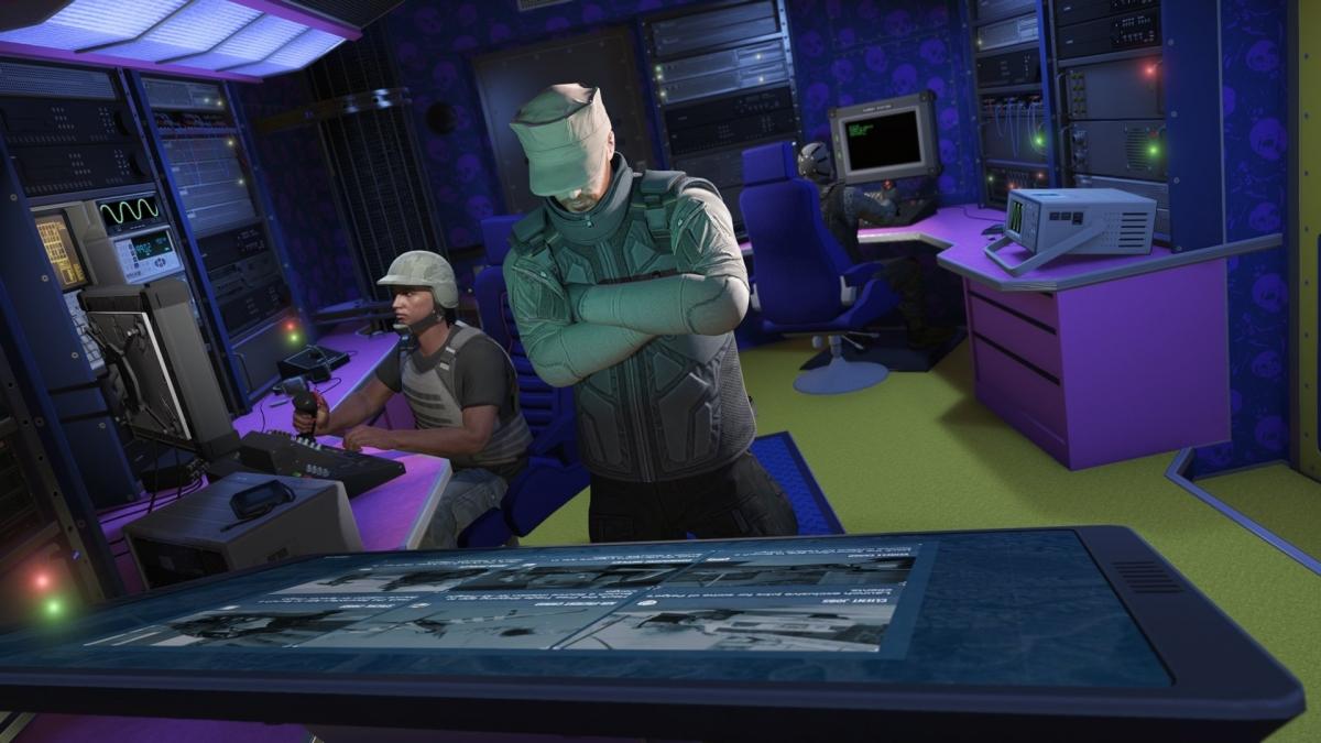 Завтра в GTA Online появится передвижной командный центр