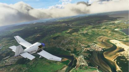 Клиент Microsoft Flight Simulator сократили вдвое — до83 ГБ