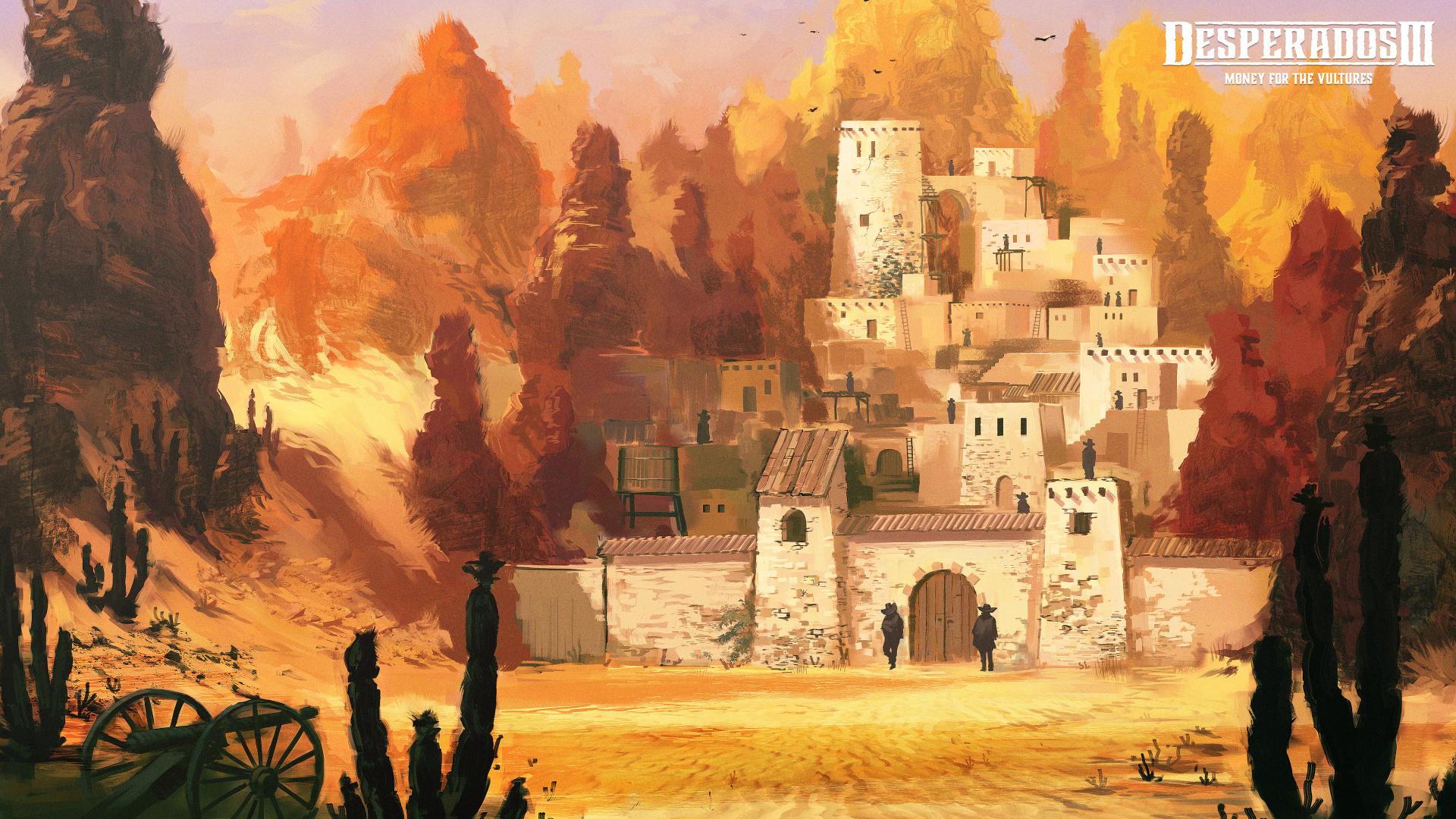 К Desperados III выпустили финальную часть дополнения «Деньги для стервятников»