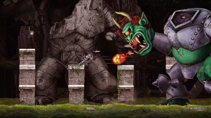 Релиз Ghosts 'n Goblins Resurrection состоялся на Nintendo Switch
