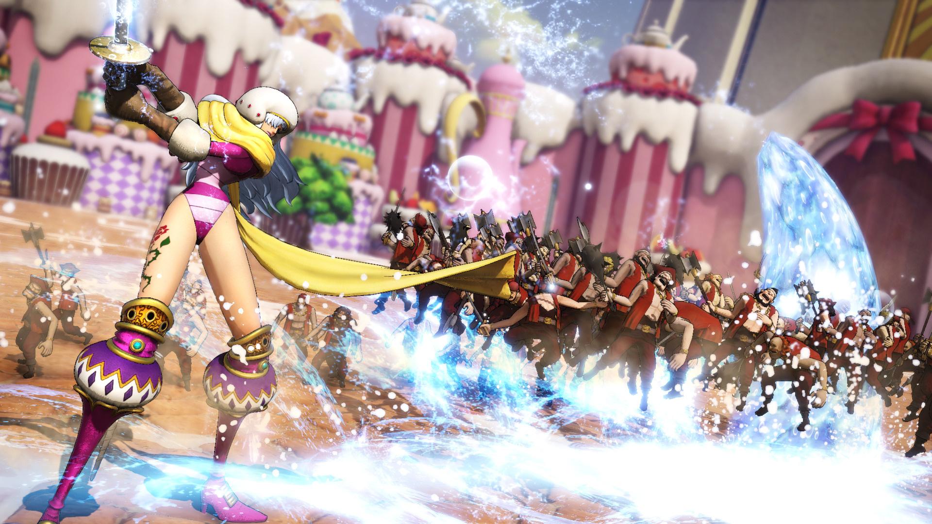 Шарлотта Смузи в новом геймплейном трейлере One Piece: Pirate Warriors4